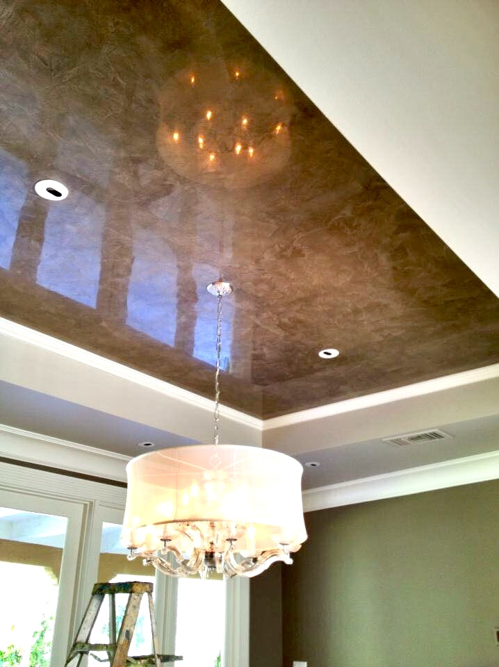 Decorative Wall Finish, Venetian Plaster, Edith Barrera Interiors, Edith  Barrera, Edith Barrera